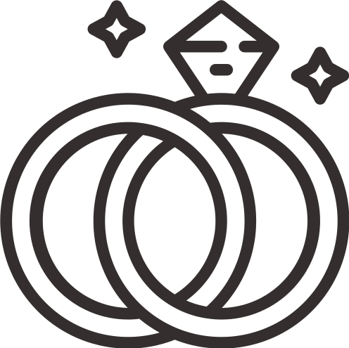 Icône Mariage